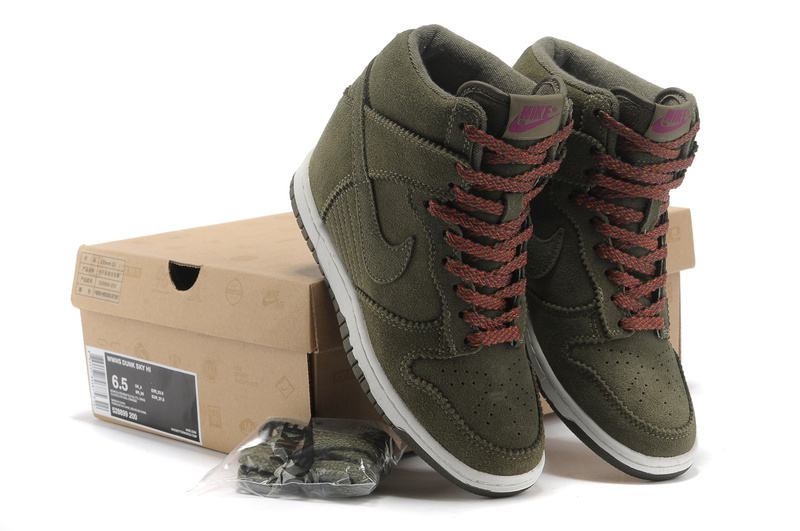 nike dunk high kaki